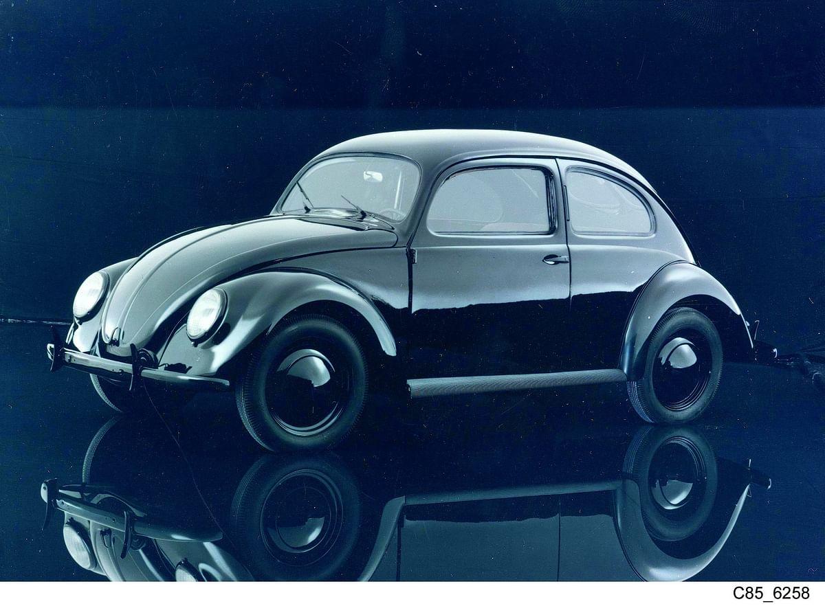 "A 1938 Beetle. (<a href=""http://media.vw.com/"">Photo: Volkswagen</a>)"
