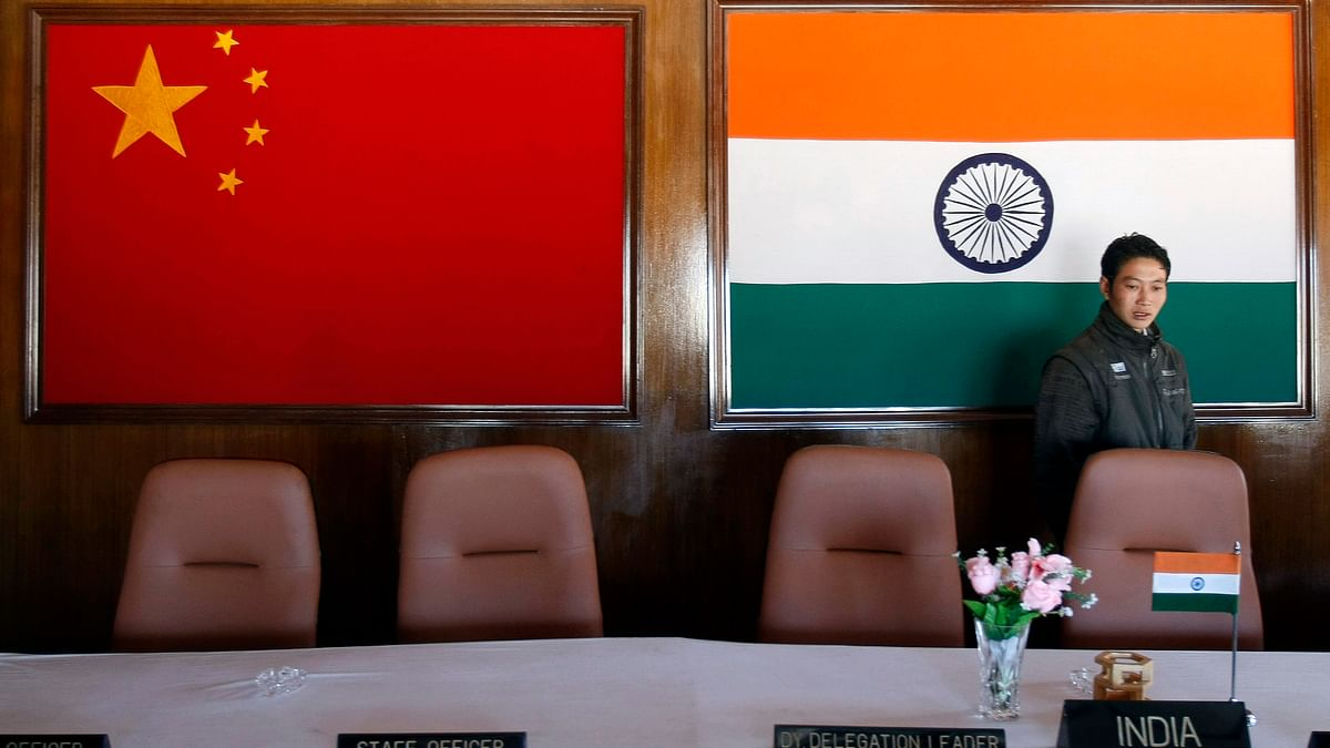 <!--StartFragment-->A man walks inside a conference room used for meetings between military commanders of China and India, at the Indian side of the Indo-China border at Bumla, Arunachal Pradesh. (Photo: Reuters)&nbsp;<!--EndFragment-->