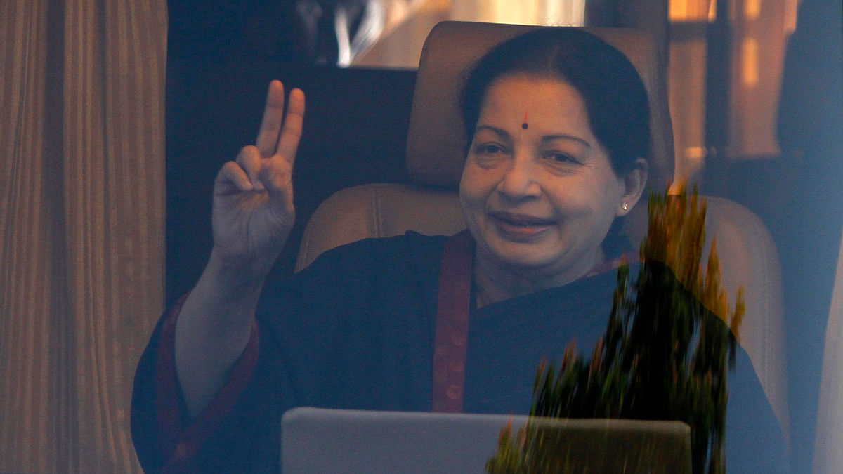 Tamil Nadu Chief Minister and AIADMK chief J Jayalalithaa has been hospitalised since 22 September. (Photo: Reuters)