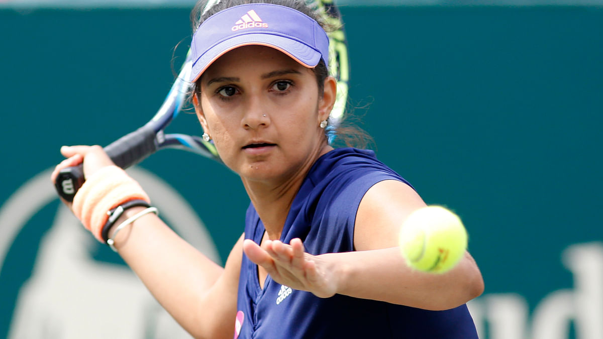 File picture ofSania Mirza. (Photo: AP)