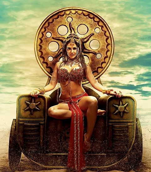 (Picture: Sunny Leone from the poster of the 2015 film <i>Ek Paheli Leela</i>)