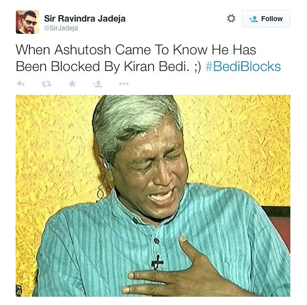 Oops! Kiran Bedi Did it Again. Tweeple Get#BediBlocks Trending