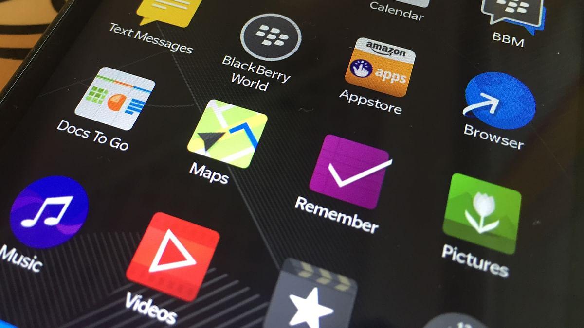 <!--StartFragment-->BlackBerry Leap (Photo: TheQuint)<!--EndFragment-->