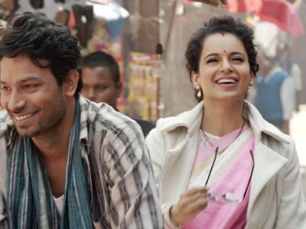 Kangana Ranaut from the film <i>Tanu Weds Manu Returns</i>