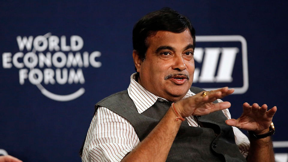 At a meeting, Union Road Transport Minister Nitin Gadkari acknowledged that Narendra Modi's 2014 campaign slogan, <i>acche din aaney wale hai,</i> had become a <i>gale mein haddi </i>for the BJP. (Photo: Reuters)