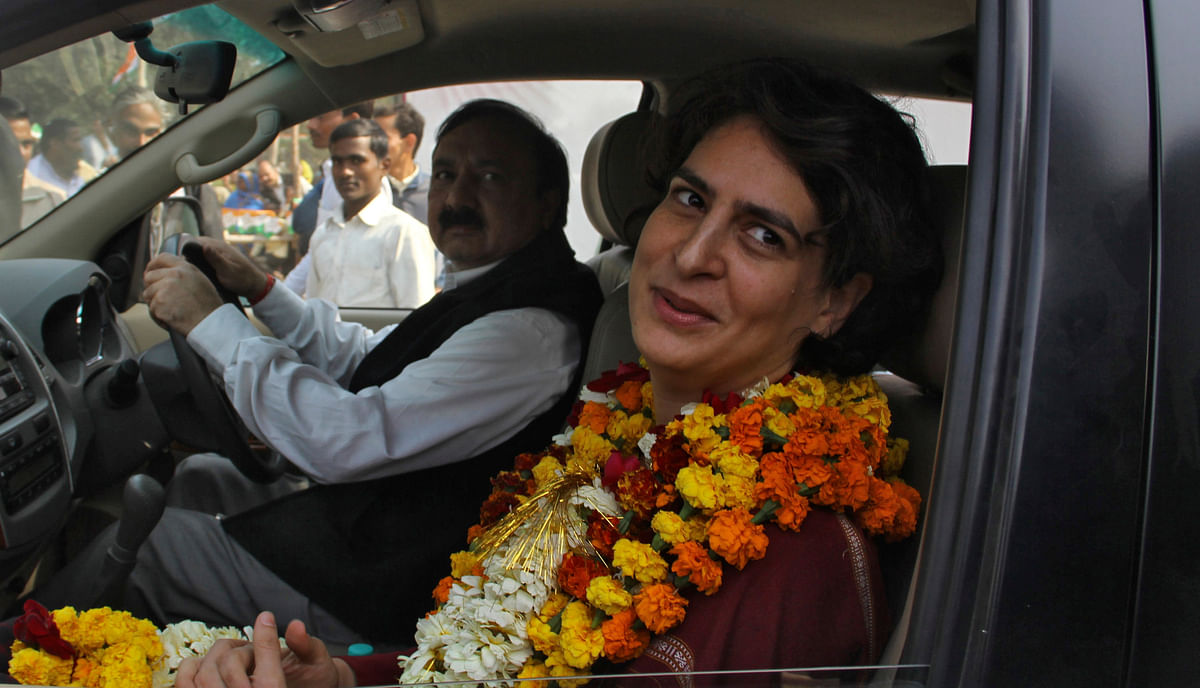 Priyanka Gandhi Vadra (Photo: Reuters)