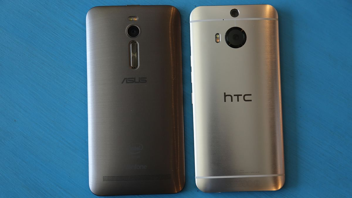 Asus Zenfone 2 looks like the HTC One M9+. (Photo: The Quint)
