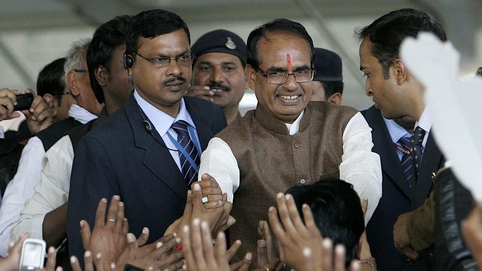 File photo of Madhya Pradesh CM Shivraj Singh Chouhan.