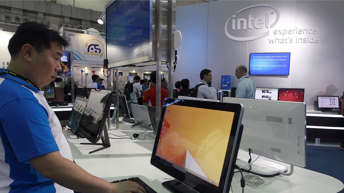Intel has been the popular choice of chipset for PC manufacturers.