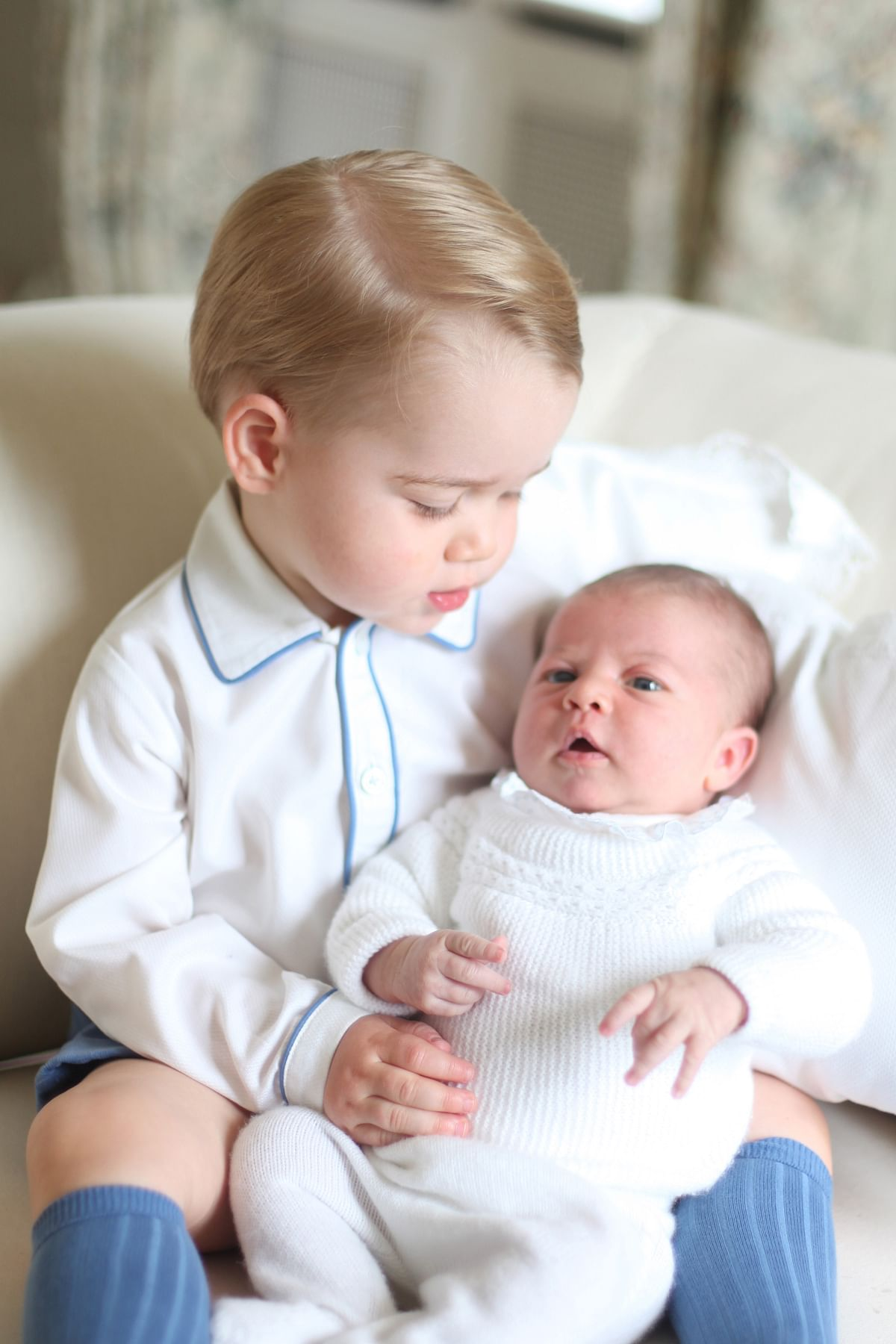Her Royal Highness Princess Charlotte Elizabeth Diana of Cambridge,  was born on May 2, 2015 (Photo: Reuters)