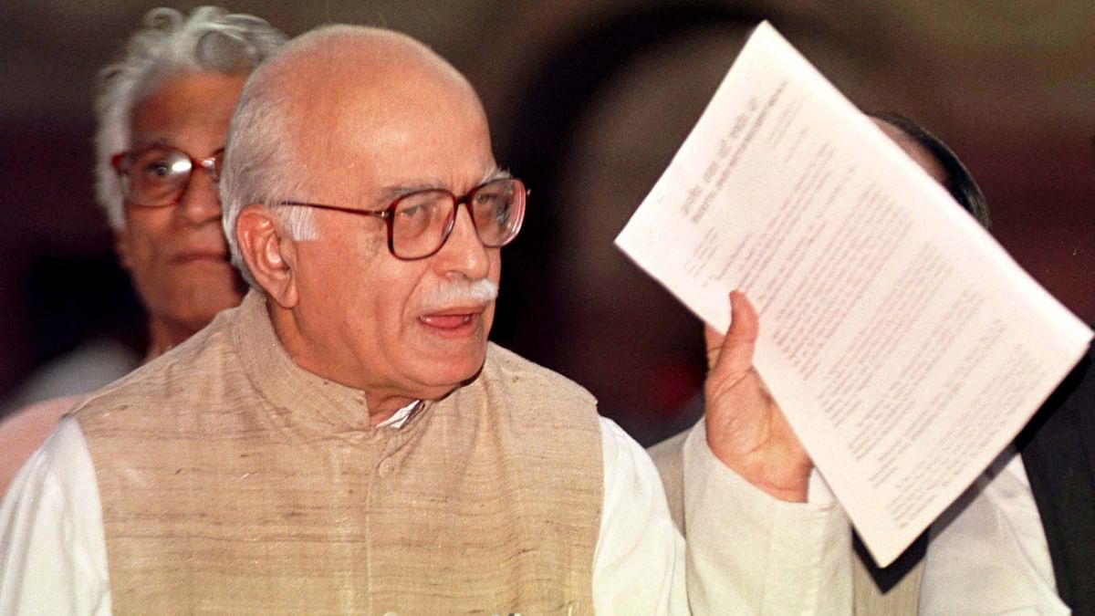 Senior BJP leader LK Advani has claimed that he doesn't believe the Emergency couldn't happen again. (Photo: Reuters)