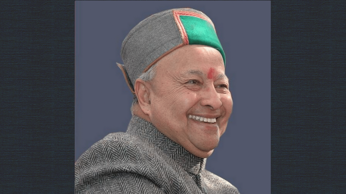 """Chief Minister Virbhadra Singh (Photo: Twitter/<a href=""""https://twitter.com/virbhadrasingh"""">@virbhadrasingh</a>)"""