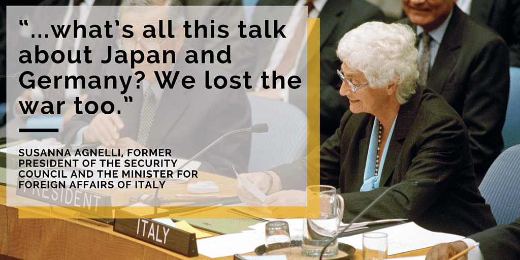 Germany, Japan are Still 'Enemies'! That's How Outdated the UN is
