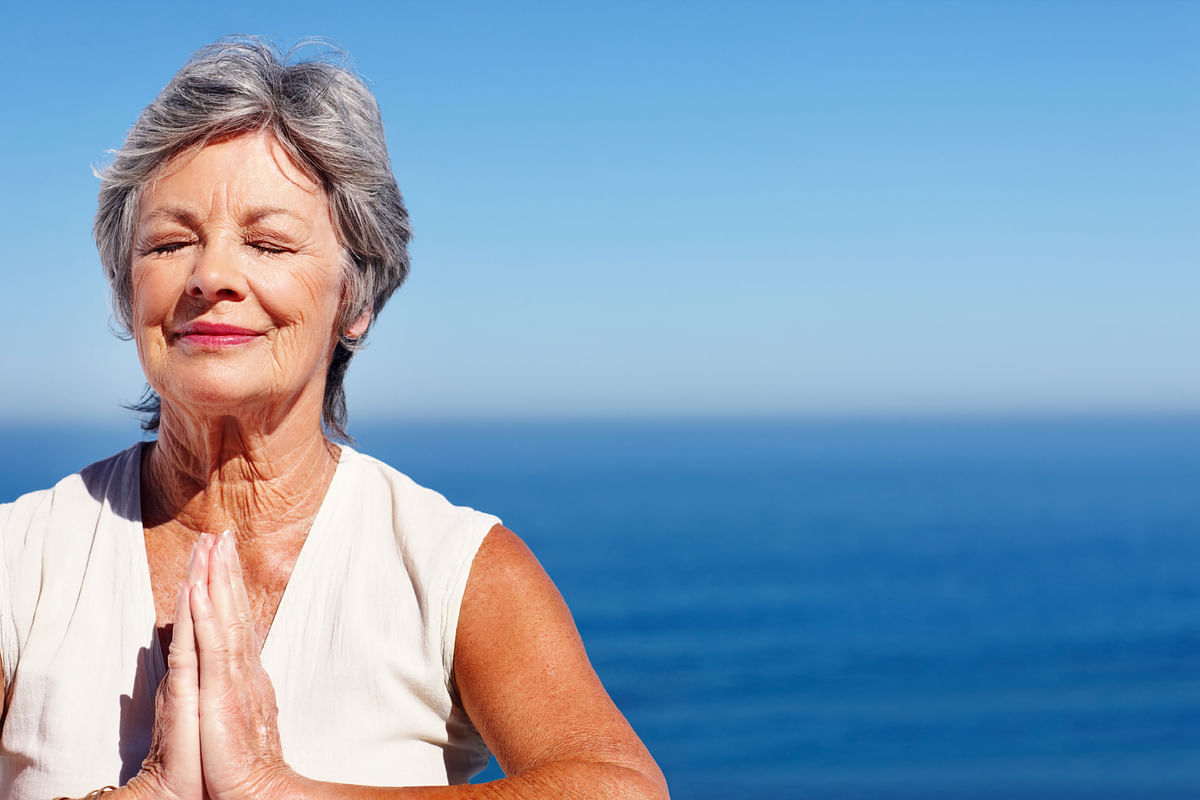 If you are starting with yoga at an older stage, take it slow and tellyour instructor about any prior health issues (Photo: iStock)