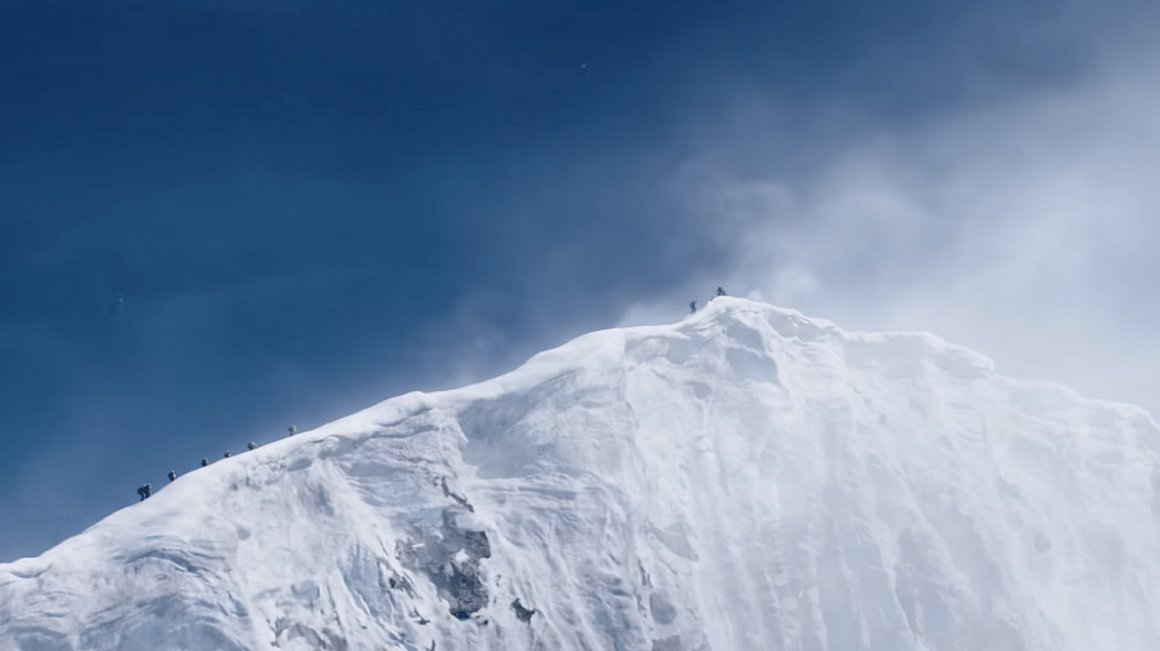 A still from the film <i>Everest</i>