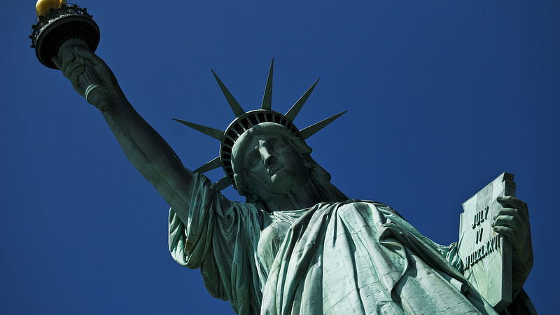 The Statue of Liberty. (Photo: Reuters)