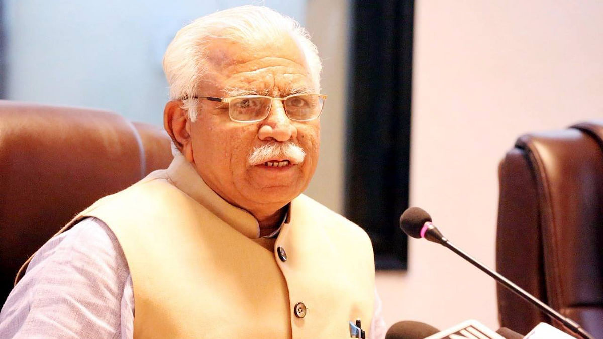 Haryana CM Manohar Lal Khattar (Photo Courtesy: Facebook/Official Facebook page of Shri Manohar Lal Khattar)