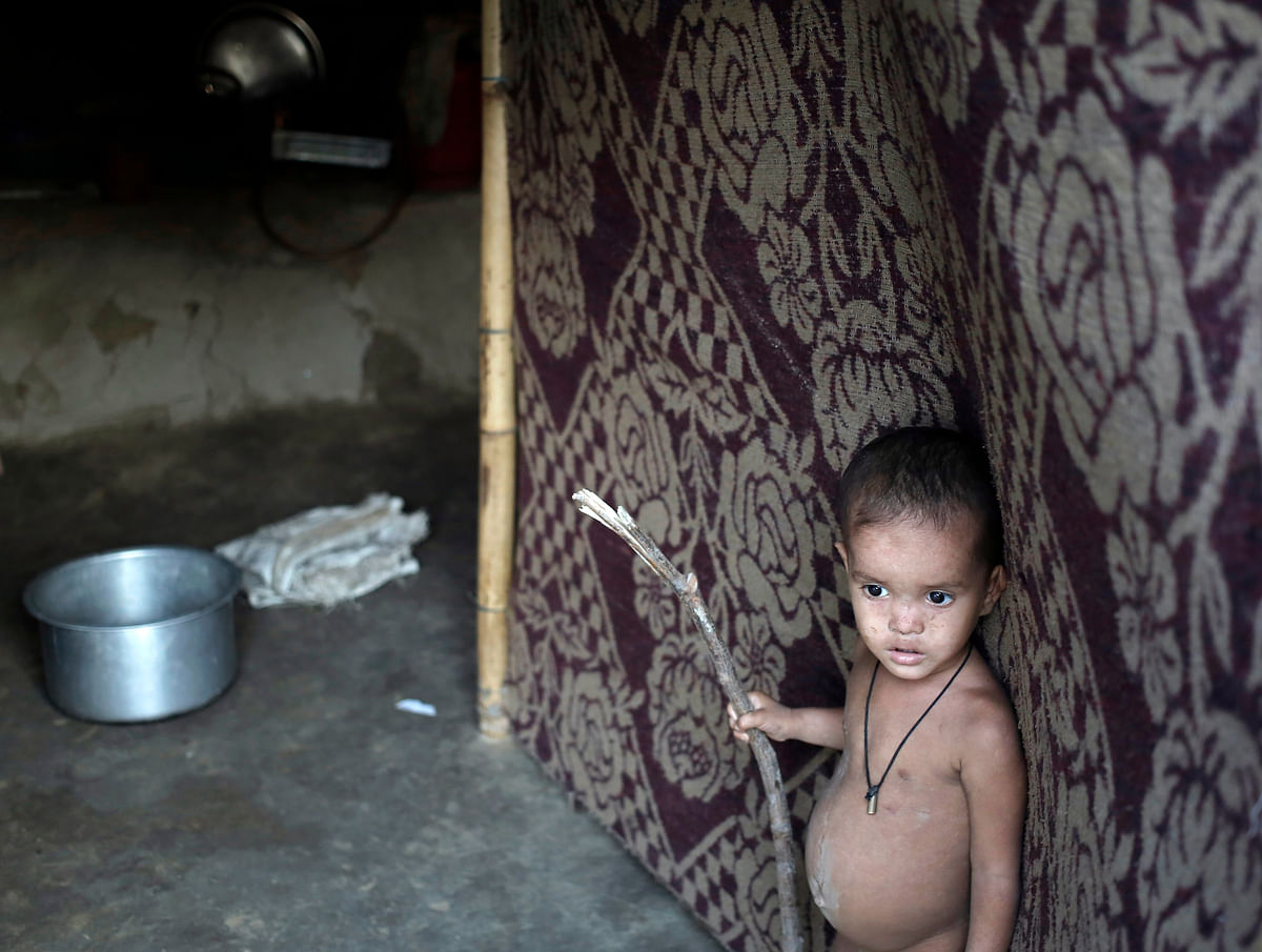A child whose parents belong to the Rohingya community. (Photo: Reuters)