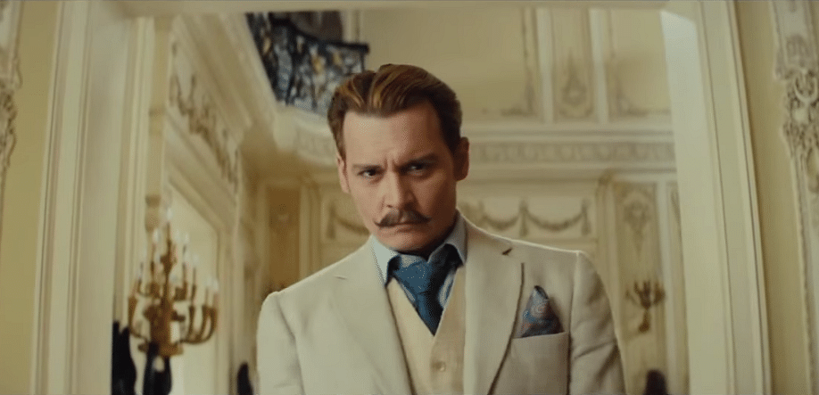 "Mortdecai (Photo: <a href=""https://www.youtube.com/watch?v=aW_sfxUnbZA"">YouTube/ MOVIECLIPS Trailers</a>)"