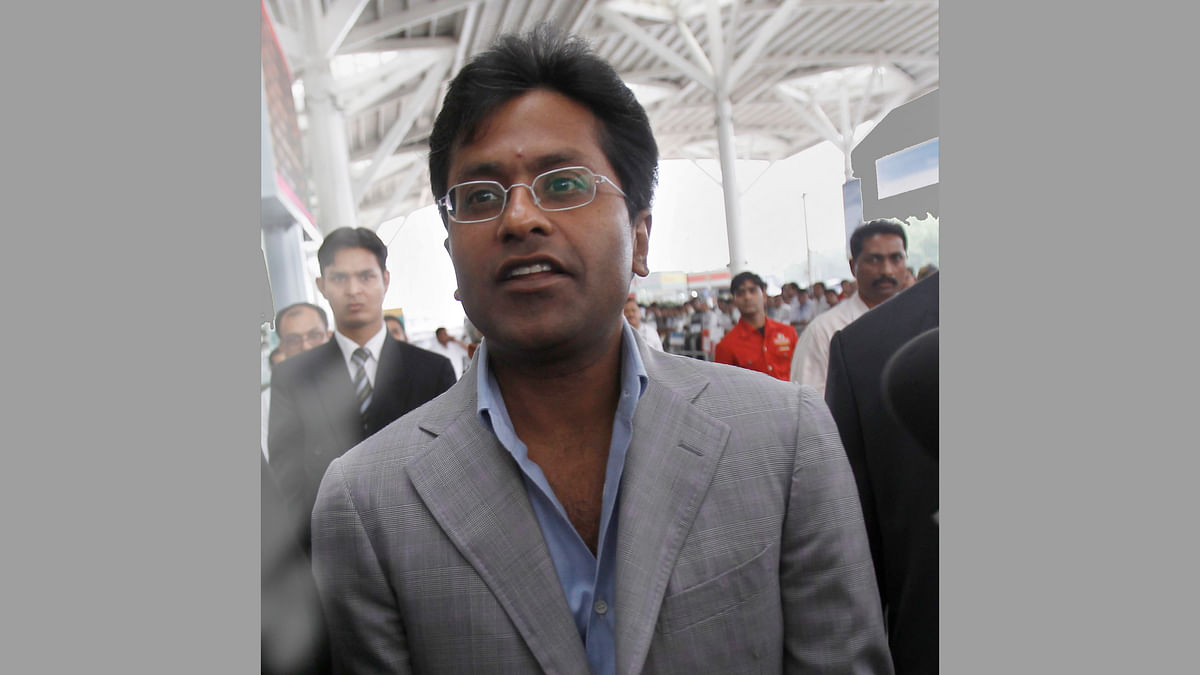 The former IPL chief Lalit Modi. (Photo: Reuters)