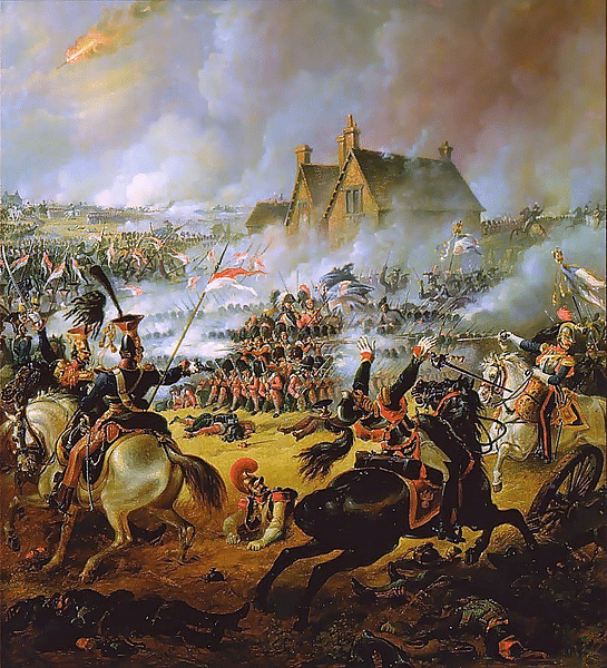 The Battle of Waterloo has become the stuff of legend as well as material for pop culture. (Photo Courtesy: Wikimedia Commons)