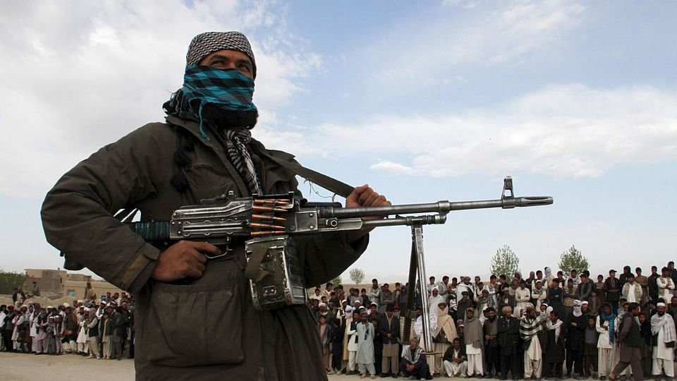 An armed agentof the Afghan Taliban. (Photo: Reuters)