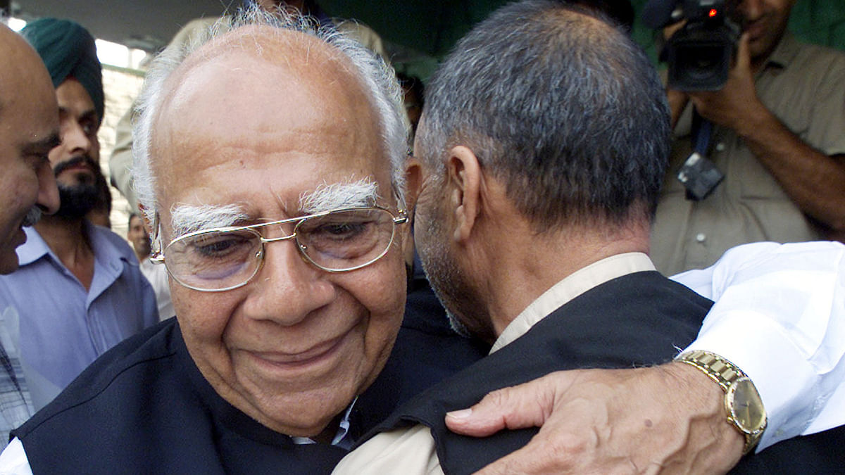 The legendary Ram Jethmalani breathed his last at his residence in Delhi on 8 September 2019.