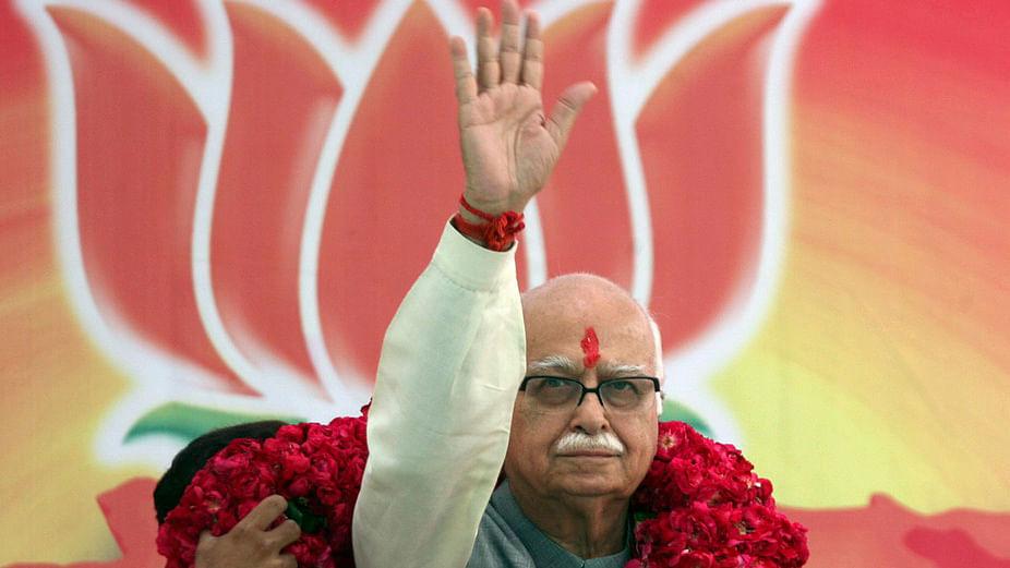File photo of veteran BJP leader LK Advani. (Photo: Reuters)