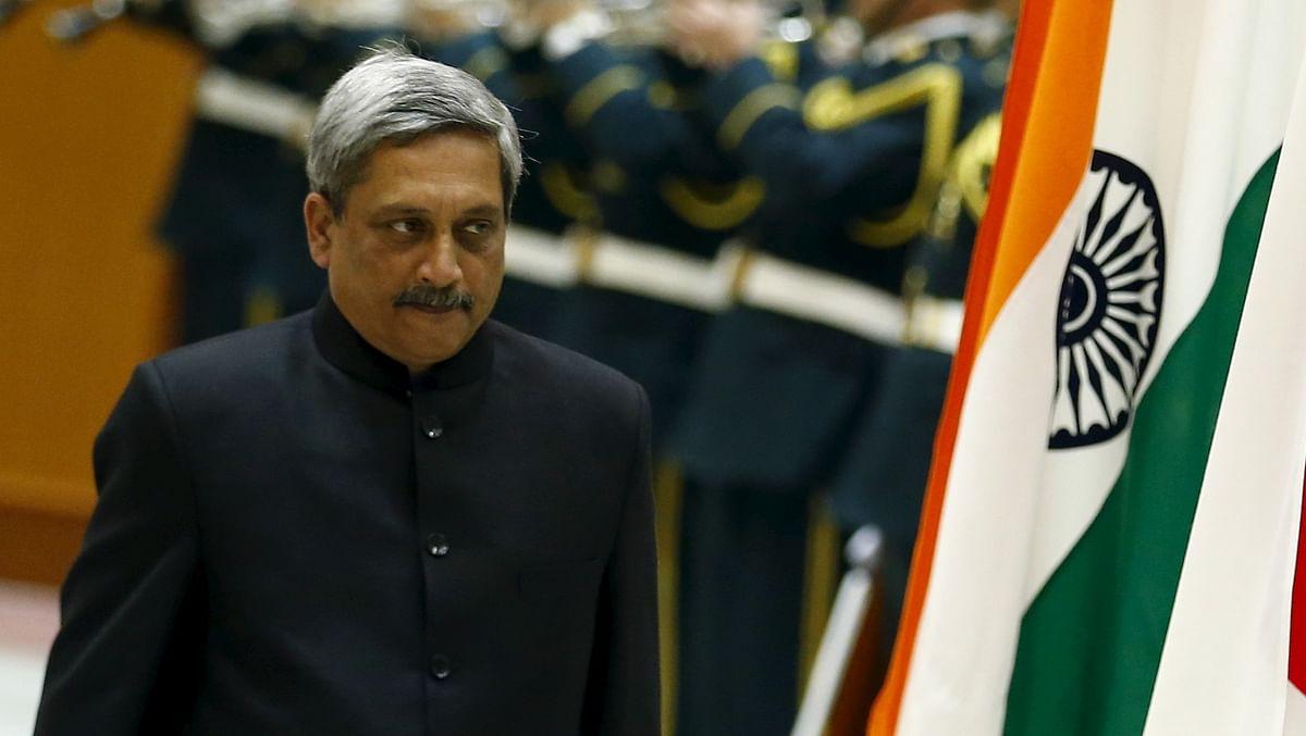 Former Defence Minister Manohar Parrikar. (Photo: Reuters)