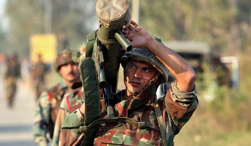 The Indian Army in a counter-insurgent operation in Myanmar. (Photo: Reuters)