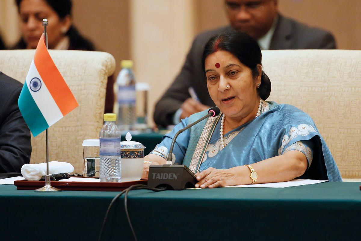 Sushma Swaraj. (Photo: Reuters)