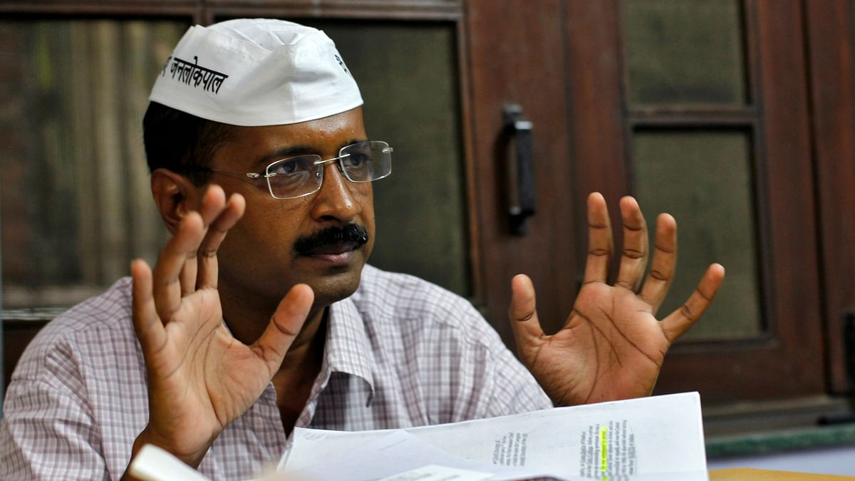 Delhi Chief MInister Arvind Kejriwal agrees with Advani's claim on Emergency. (Photo: Reuters)