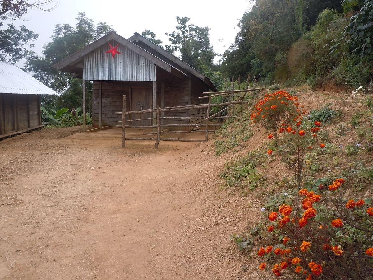 A church in Paraolon.  (Photo: Maitreyee Handique)