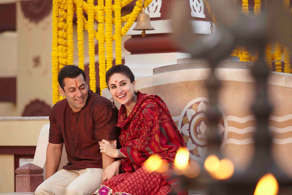 <i>Bajrangi Bhaijaan</i> is Kareena's third film with Salman. She plays a school teacher in the film. (Photo: Salman Khan productions)
