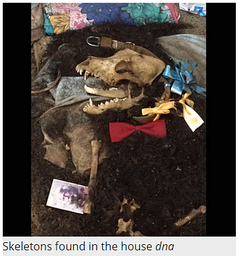 """Skeletons found in the De household. (Courtesy:<i> </i>Screenshot of<i> <a href=""""http://www.dnaindia.com/"""">DNA India</a></i>'s article <a href=""""http://www.dnaindia.com/india/report-kolkata-s-house-of-skeletons-man-found-living-with-corpse-sister-and-dogs-breaks-silence-2096024"""">""""Kolkata's house of skeletons: Man found living with sister's corpse and dead dogs breaks silence""""</a>)"""