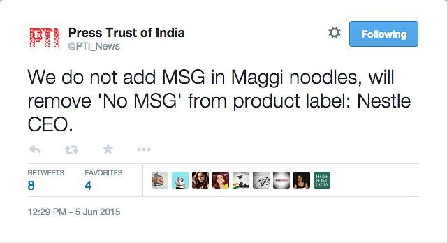 No Lead, No MSG in Maggi, says Nestle Global CEO Paul Bulcke