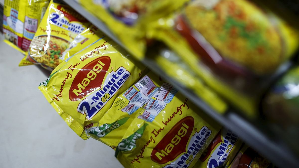 Packets of Nestle's Maggi instant noodles are seen on display at a grocery store in Mumbai, India, June 3, 2015. India's food minister on Wednesday ordered safety checks on Nestle India's Maggi instant noodles after regional food inspectors said the test batches of the popular snack were found to contain dangerous levels of lead. (Photo: Reuters)