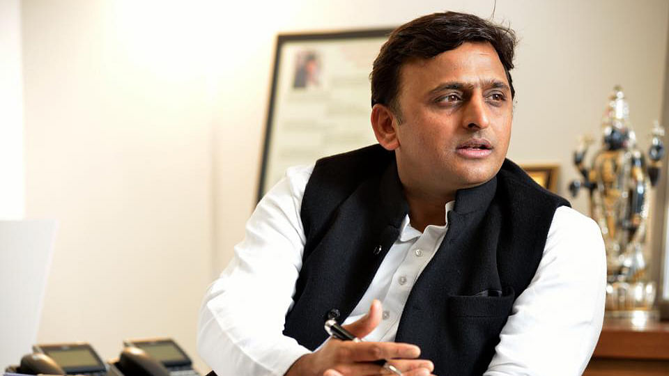 Within days of being elected, Akhilesh's Samajwadi Party (SP) government issued a letter bearing the chief minister's seal. (Photo: Facebook/Account of Uttar Pradesh CM Akhilesh Yadav)