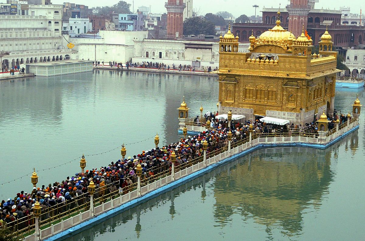"""The Harmandir Sahib, also known as Darbar Sahib and often referred to as the """"Golden Temple"""" is the holiest Sikh gurdwara.(Photo: Reuters)"""