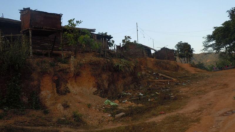 Govijang Villageis right on the  'Zero Line' between India and Myanmar. (Photo: Maitreyee Handique)