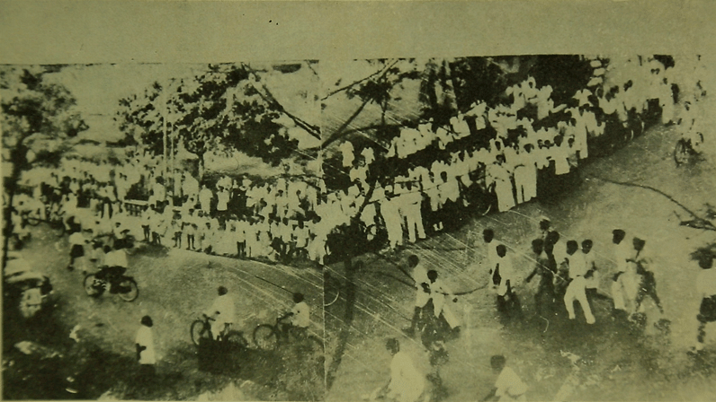 Ram Manohar Lohia during the Civil Liberties movement, 1946. (Photo: Directorate of Art and Culture, Krishnadas Shama Goa State Central Library)