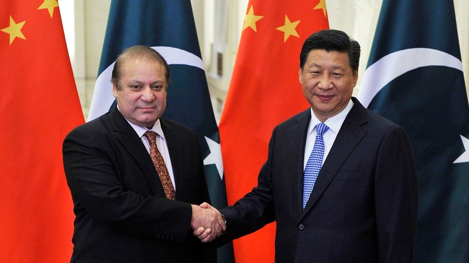 Pakistan's ousted Prime Minister Nawaz Sharif (left) shaking hands with China's President Xi Jinping. Photo used for representational purpose.
