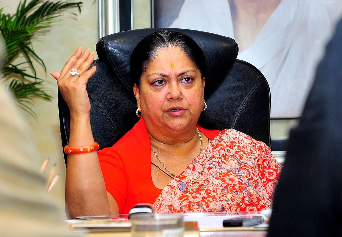 Vasundhara Raje. (Photo: Reuters)