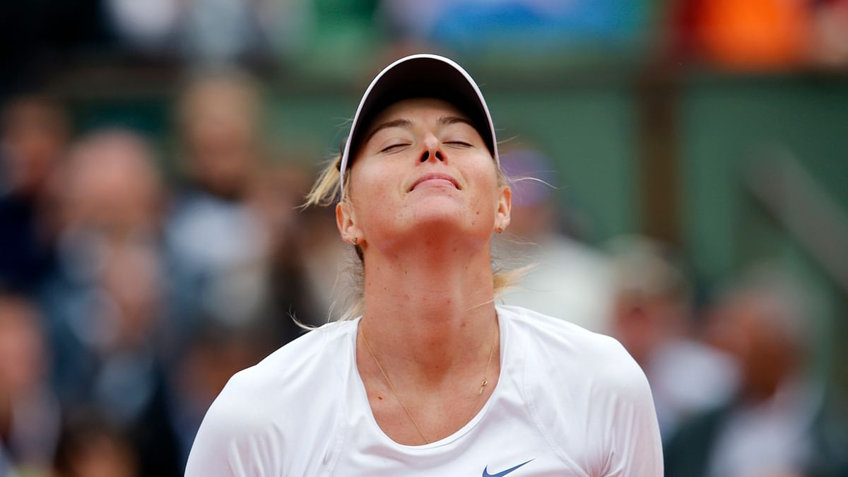 Maria Sharapova's doping ban has been reduced to 15 months (Photo: AP)