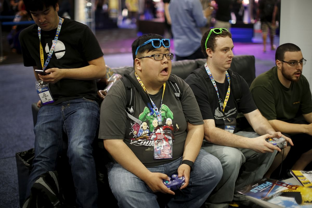 It's a gaming paradise that every serious gamer should visit, E3 2015 the different emotions of gamers. (Photo: Reuters)