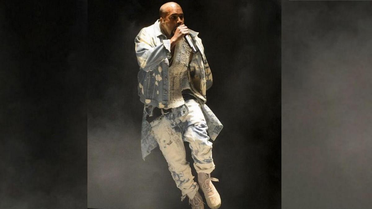 Kanye West performing at Glastonbury Festival(Photo: Instagram/@kimkardashian)