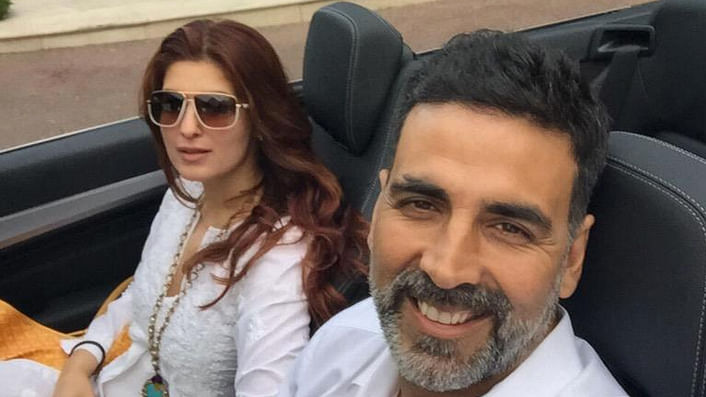"Akshay Kumar takes time off with wife Twinkle Khanna in the South of France. (Photo: Twitter/<a href=""https://twitter.com/akshaykumar/status/610321030943371264"">@akshaykumar</a>)"
