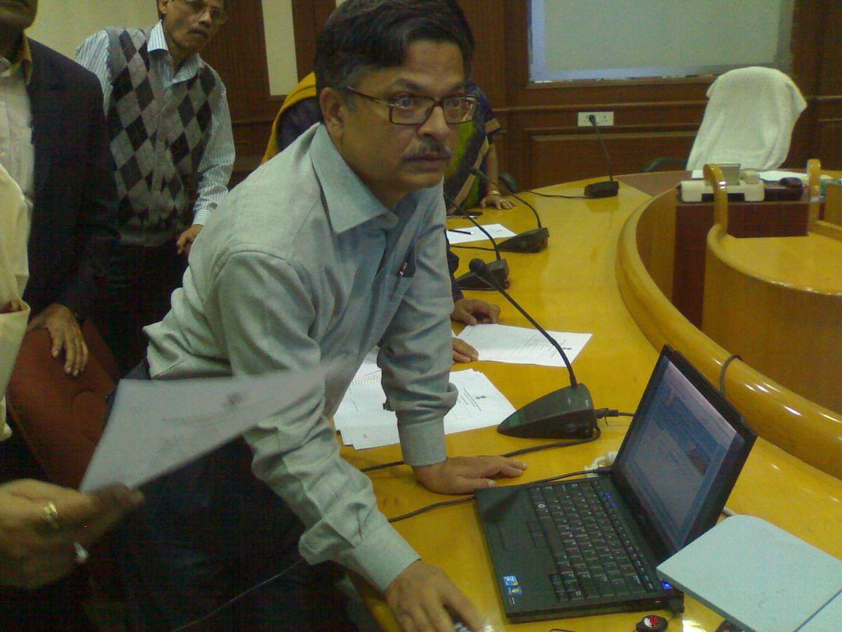 "Former Chief Secretary Samar Ghosh. (Photo: <a href=""http://informatics.nic.in/"">informatics.nic.in</a>)"