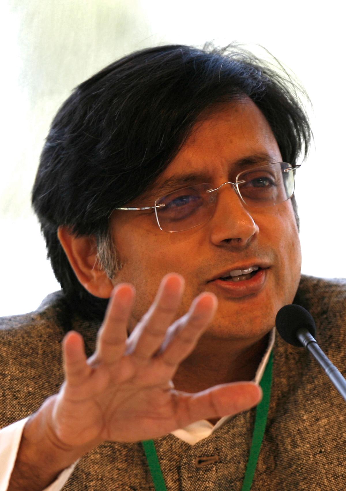 Shashi Tharoor. (Photo: Reuters)