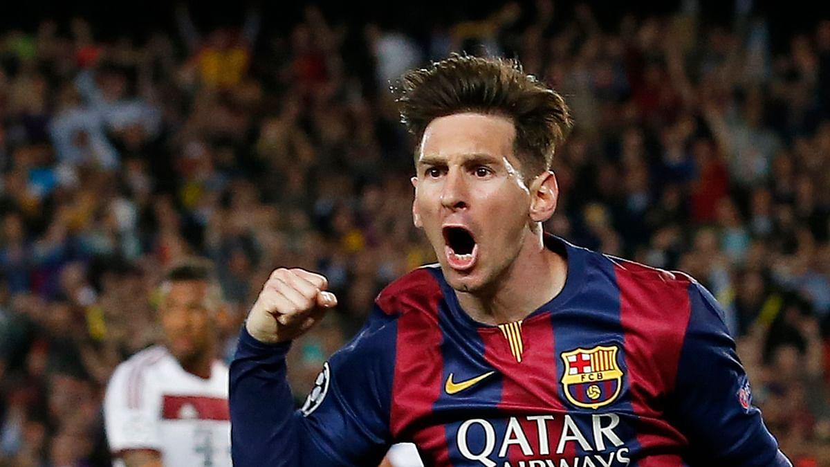File picture ofLionel Messi. (Photo: Reuters)
